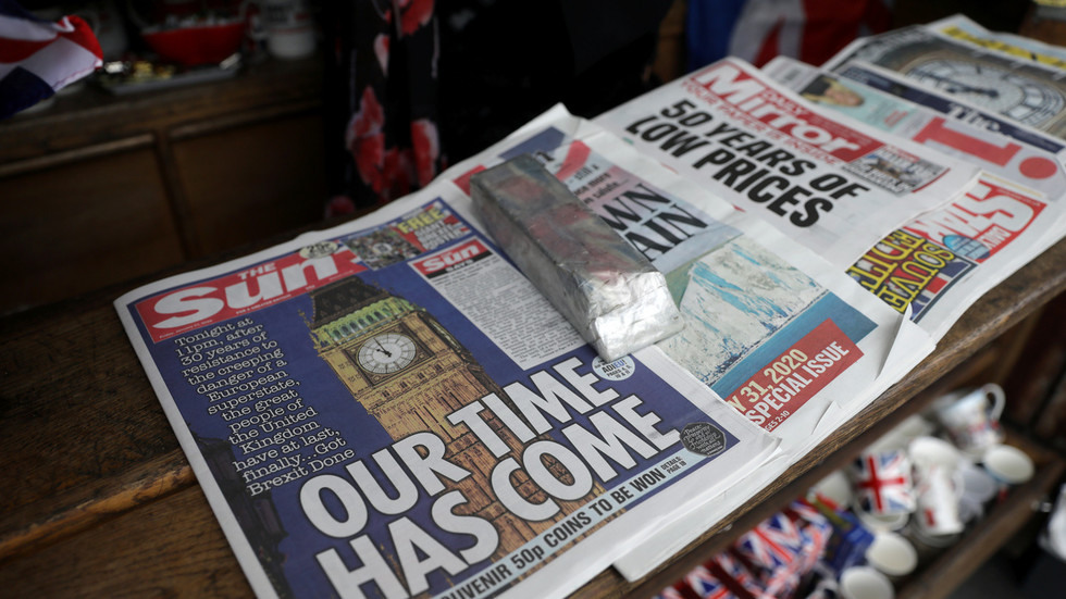 'New dawn' or 'leap into the unknown'? How the UK's partisan press marked Brexit day