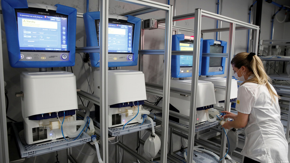 'Very poorly equipped': UK facing dire scarcity of ventilators as Covid-19 cases increase, says largest manufacturer