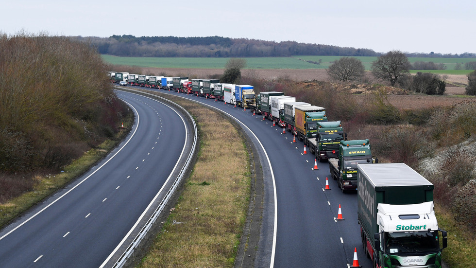 Drivers will need 'Kent Access Permit' to get into UK once Brexit transition ends, Michael Gove says