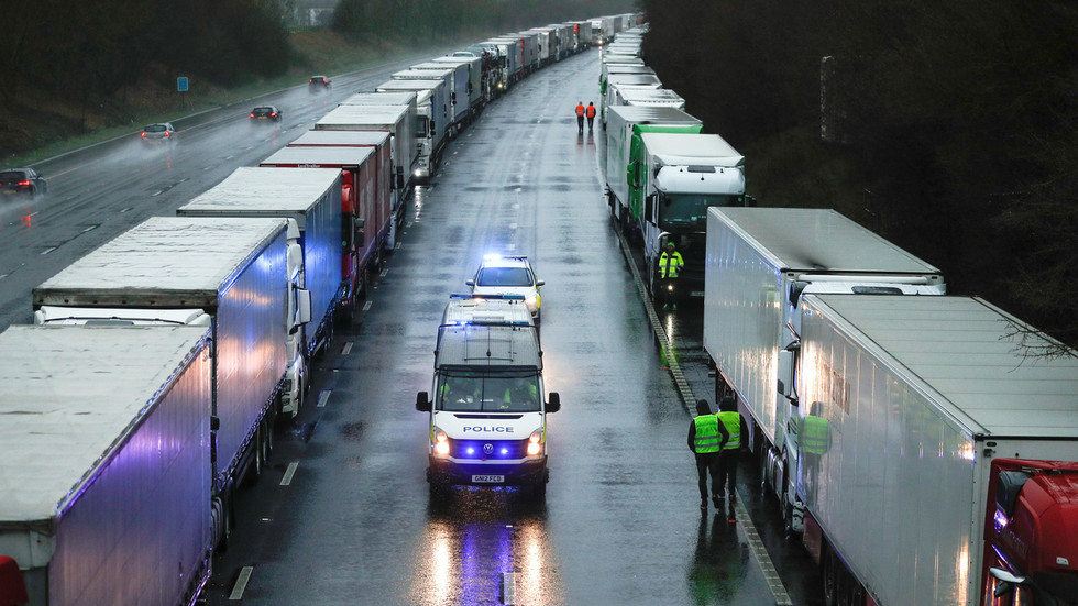 UK could have 'issues' with fresh food supply unless trucks roll into France as soon as possible – retail industry group chief